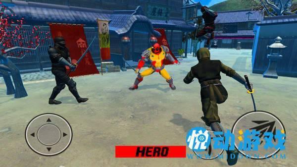 超级忍者英雄截图0