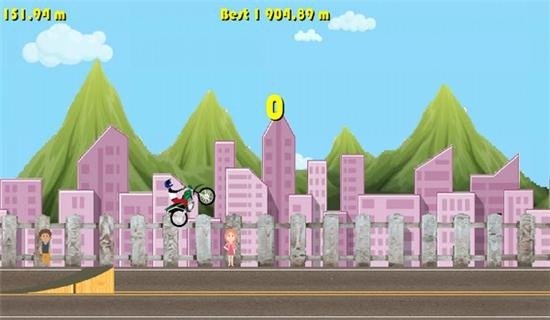 自行车冠军游戏