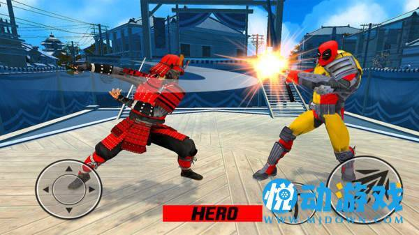 超级忍者英雄截图1