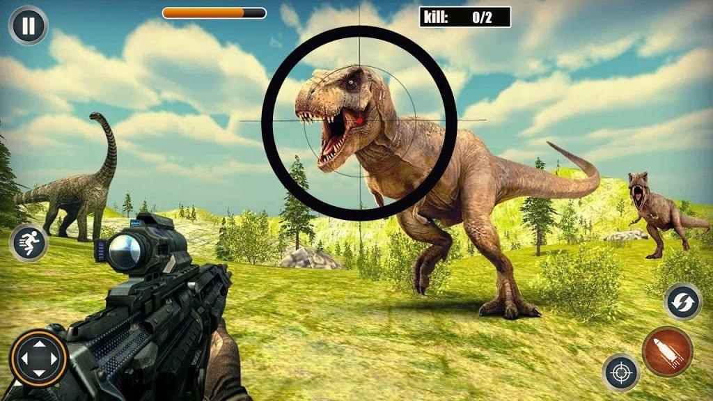 真实猎人恐龙狩猎截图0