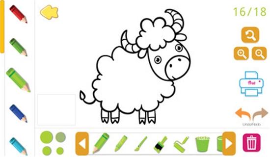儿童宝宝画画涂色截图0