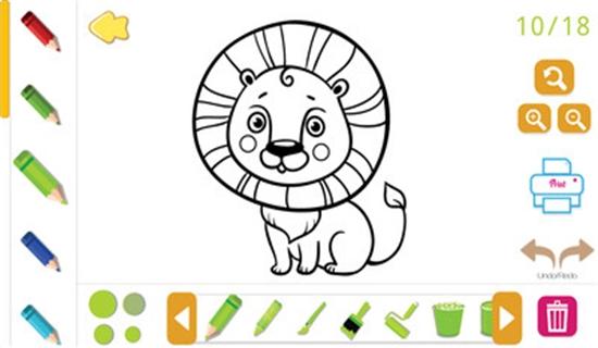 儿童宝宝画画涂色截图2