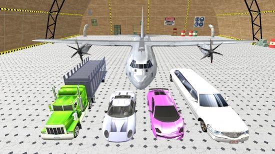 飞机飞行员运输车卡车模拟器截图1
