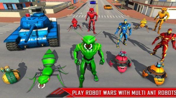 绳索蚂蚁机器人截图1