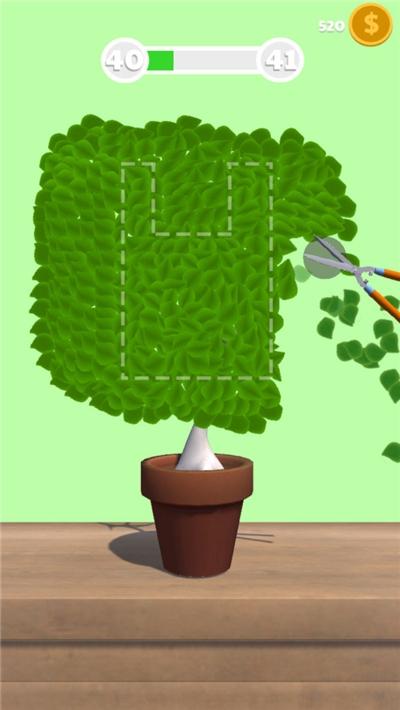 裁剪小树游戏截图0