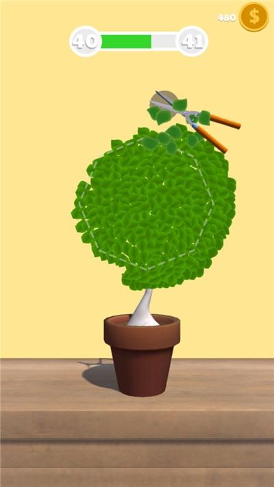 裁剪小树游戏