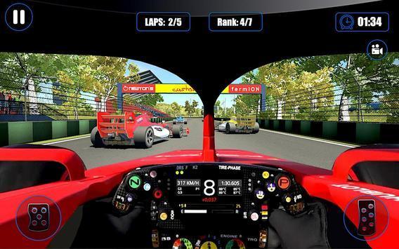 快速真方程式赛车游戏截图0