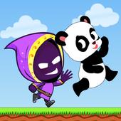 奔跑的熊猫