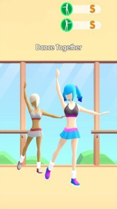 跳舞少女游戏截图1