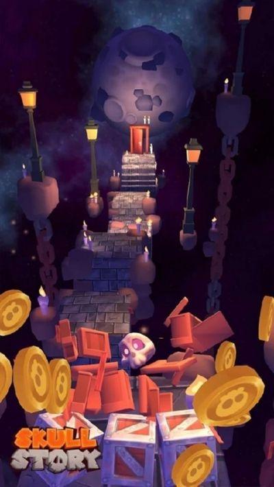 骷髅头的故事游戏截图3