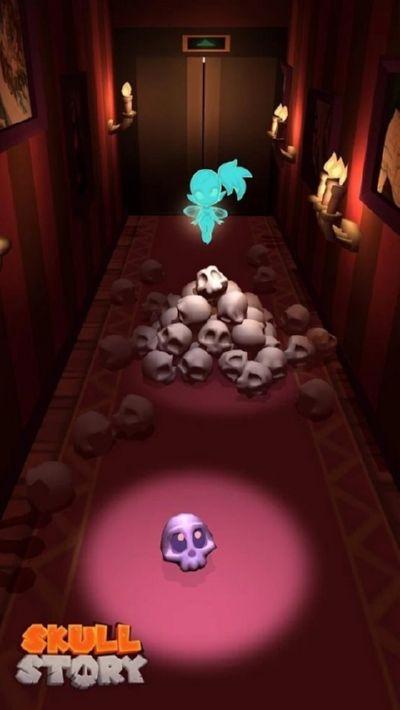 骷髅头的故事游戏截图0