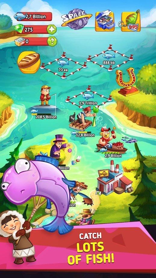 空闲钓鱼帝国截图1