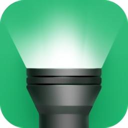 绿色手电筒