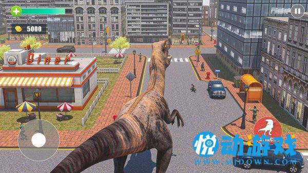 城市愤怒恐龙截图0