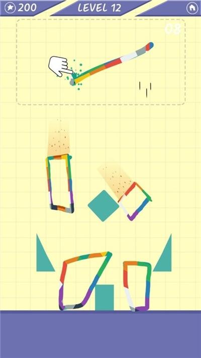 涂鸦俄罗斯方块截图1