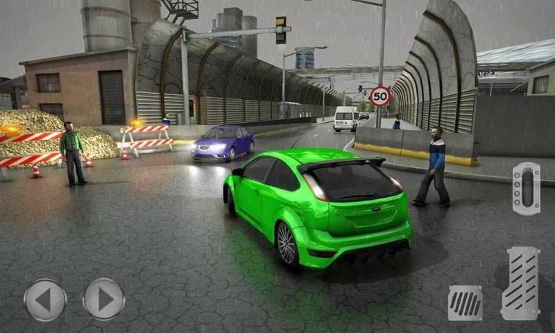 开放世界出租车模拟器截图2