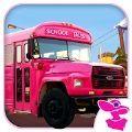 粉红女士校车司机游戏
