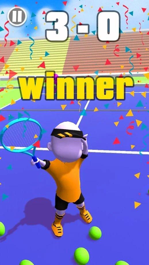 网球大师火柴人传奇截图2